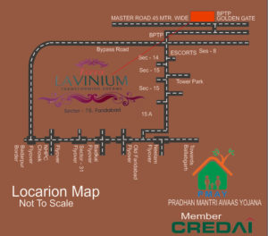 Terra Lavinium Location Map